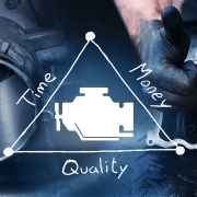 Context between time money and quality
