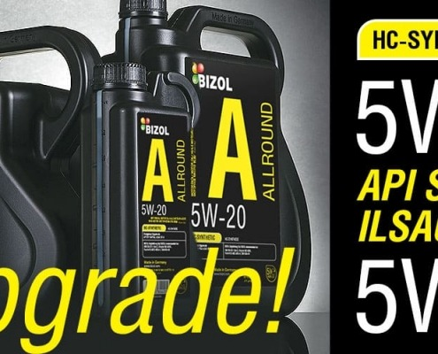 BIZOL Allround engine oil 5W-30 5W-20 upgrade ILSAC GF6