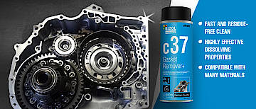 Gasket Remover+ c37 - fast removal of persistent residues