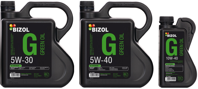 Green Oil For Engines In Stop And Go Bizol