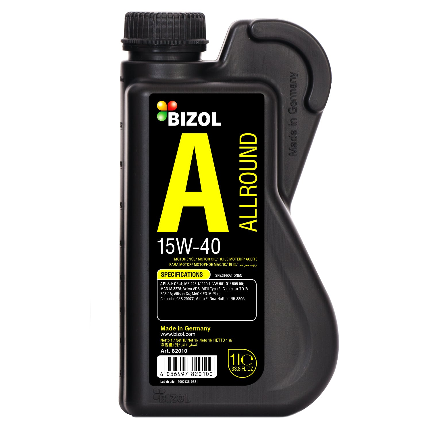 Car Motor Oil - Green Oil, Allround, Protect, Technology